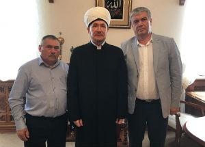 Встреча муфтия шейха Равиля Гайнутдина с представителями Касимовской местной татарской национально-культурной автономии Рязанской области