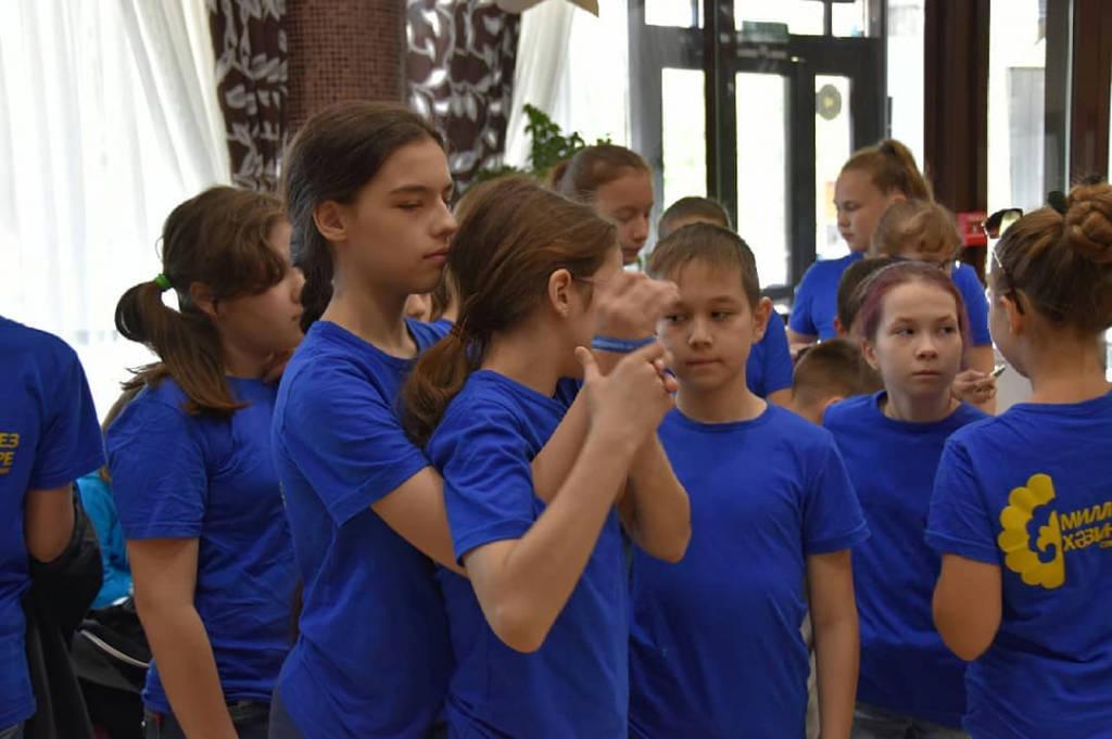 Отдых  детей в летнем лагере «Милләтебез хәзинәләре» («Сокровища нации») Республики Татарстан