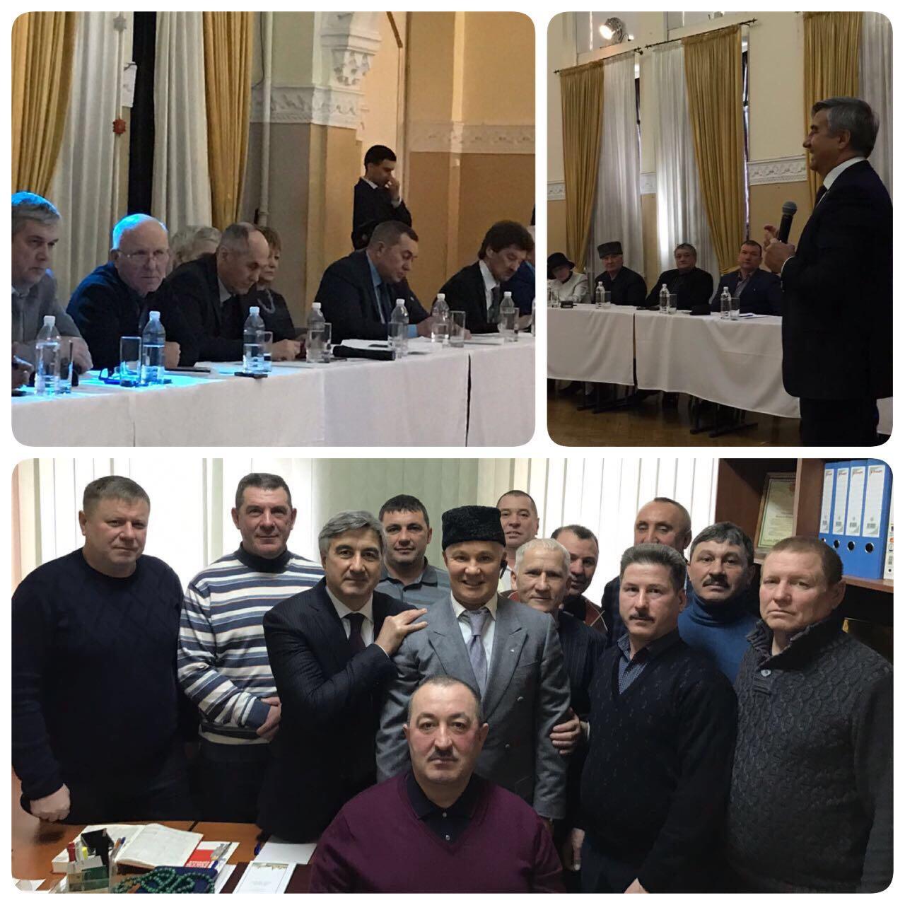 Встреча с руководителями татарских общественных организаций ЦФО и членами Совета РОО-ТНКА г. Москвы