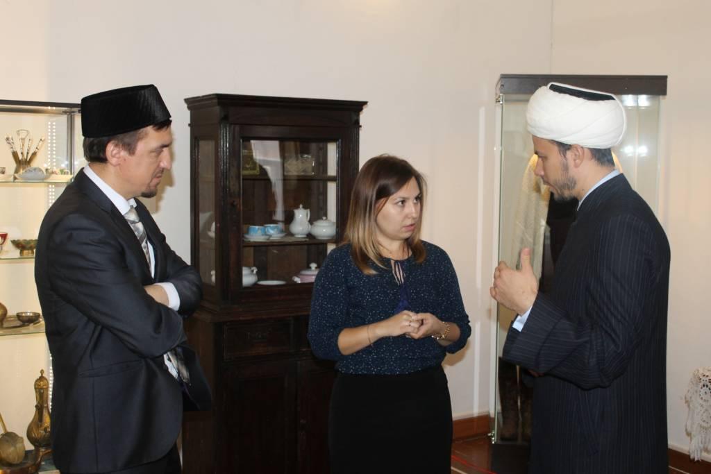 В Ханской мечети города Касимова состоялось открытие музейной выставки