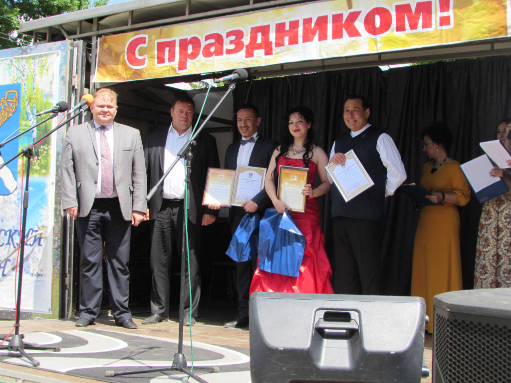 В селе Подлипки Касимовского района прошел традиционный праздник - Касимовский Сабантуй