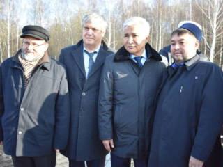 В городе Касимов открыли памятный камень Ураз-Мухаммеду